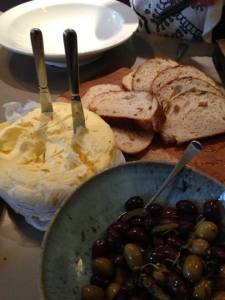 For the love of butter...and olives.