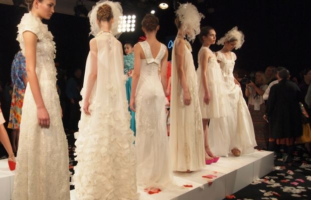 Isogawa's Bridal Collection for Mercedes Benz fashion Week 2012