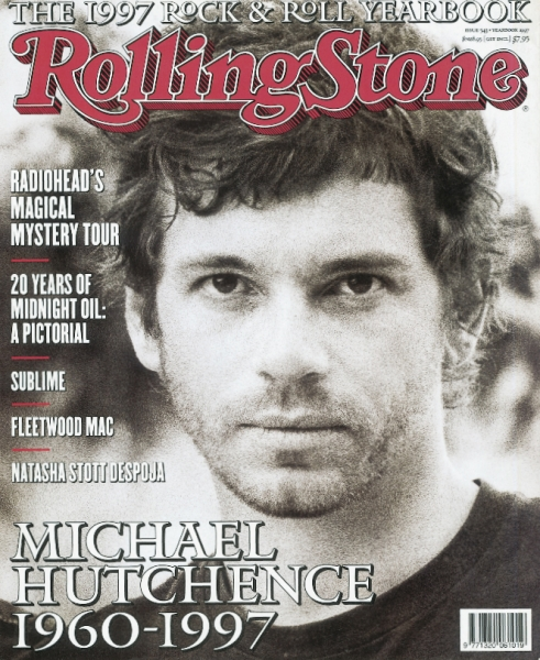 Rolling Stone Cover. Michael Hutchence by Tony Mott