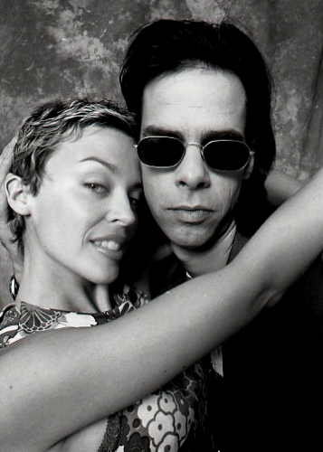 Nick Cave and Kylie Minogue by Tony Mott. The National Treasures Series : Zoë Porter