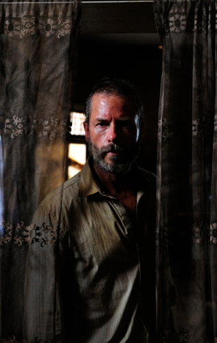 The Rover. Guy Pearce. Photography Tony Mott