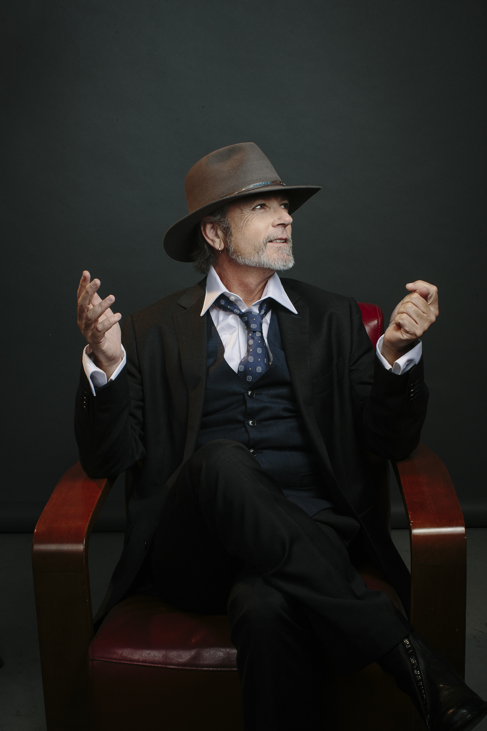 Steve Kilbey : The Church for The National Treasures Series. Photographer Toby Burrows. Zoë Porter