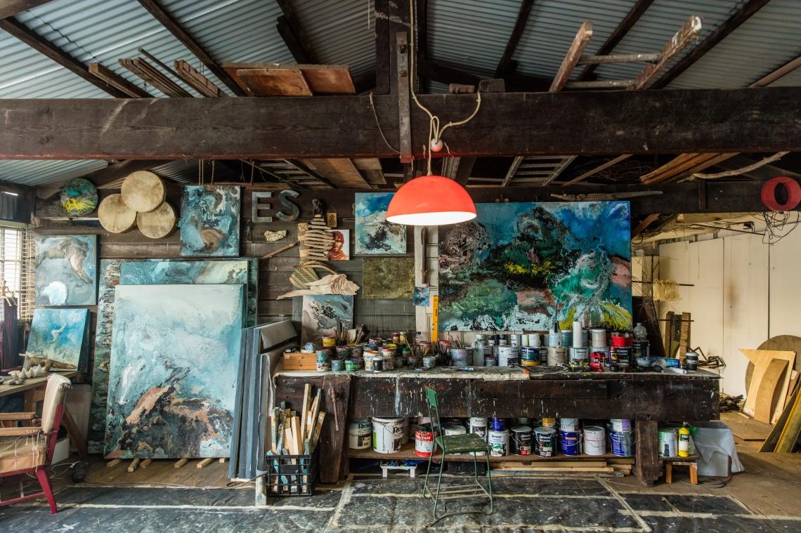 Eduardo Santos - Artist's Studio, Sydney